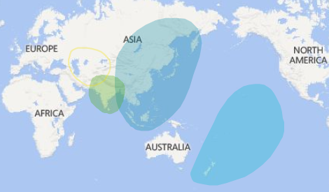 Ancestry DNA Filipino Map